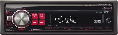 ALPINE CDЕ-9874 RR  MP3/CD/AM/FM-ресивер