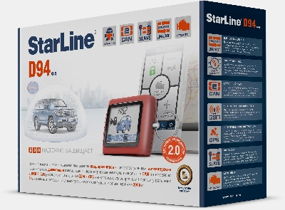 StarLine D94 2 CAN GSM/GPS 2 Slave Т2.0 сигнализация
